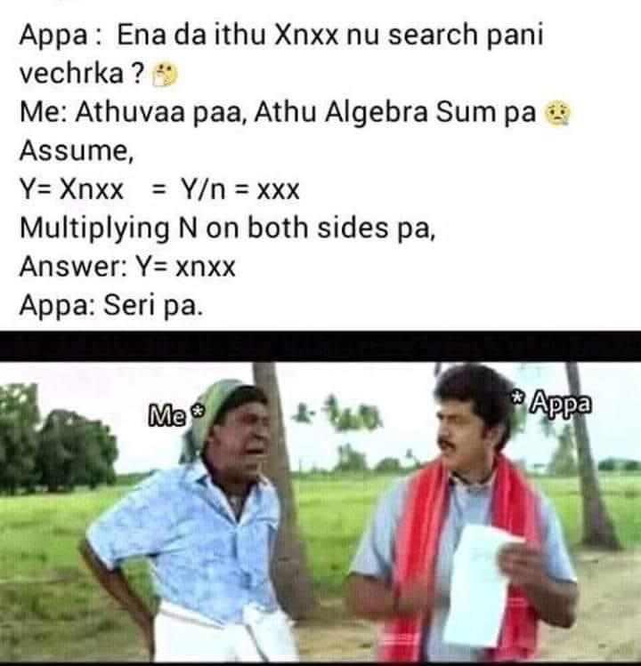 Xnxx comedy - Tamil Memes