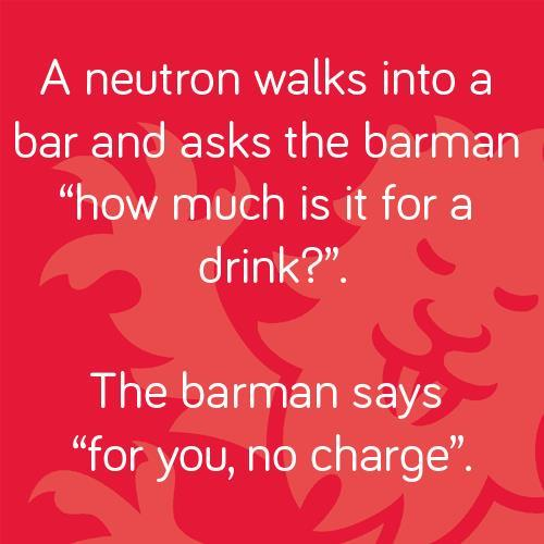 Neutron joke