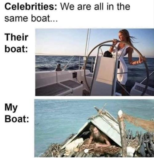their vs my boat