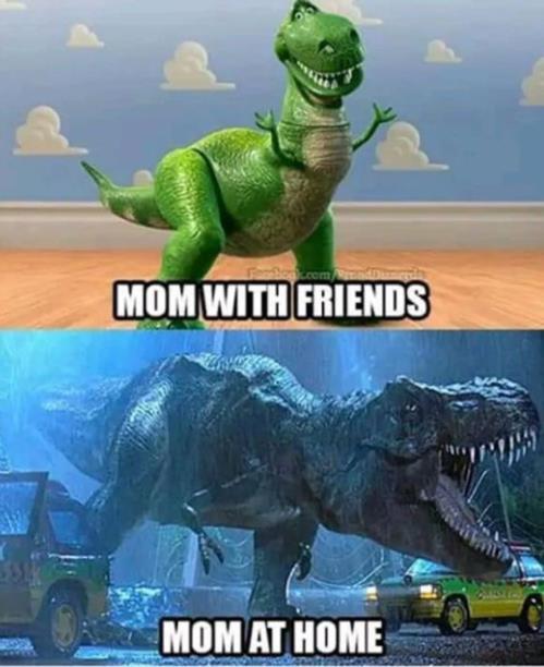 mom's behavior
