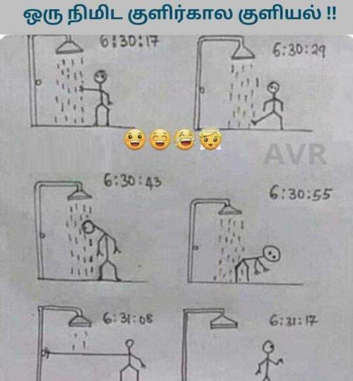 Cold day shower meme