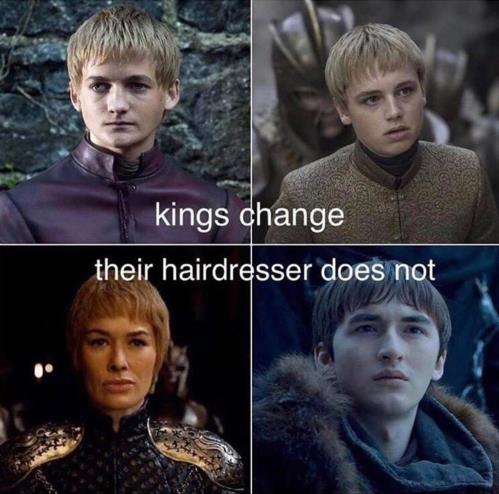 kings changed not hairdressers