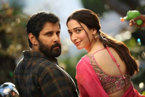 Vikram and Tamannah will play the lead roles in th