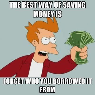 The best way of saving money