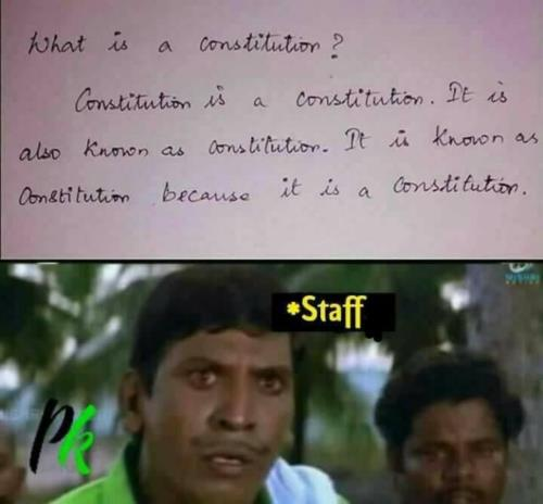 What is constitution?