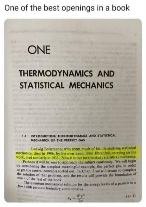 Quantum mechanics meme