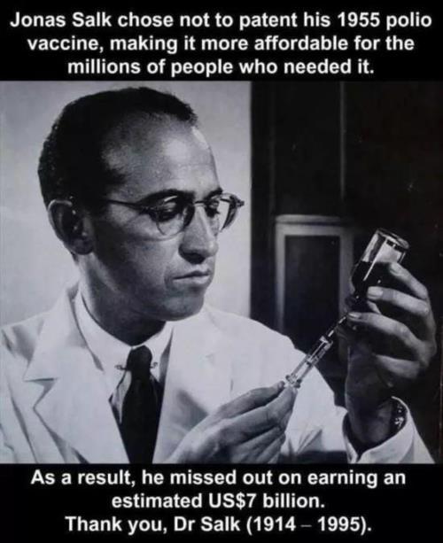 Polio interesting fact