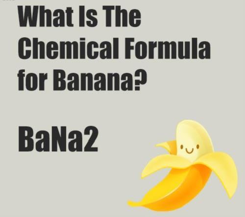 Chemical formula for BANANA:P