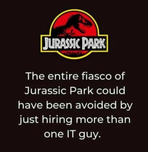 Jurrassic Park meme