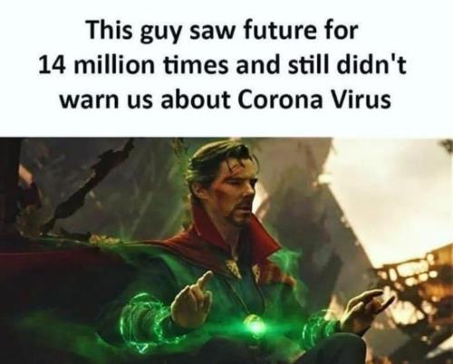 he didn't warned us