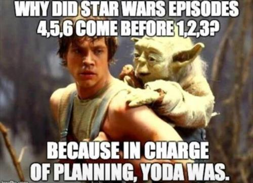 WHY DID STAR WARS EPISODE .....