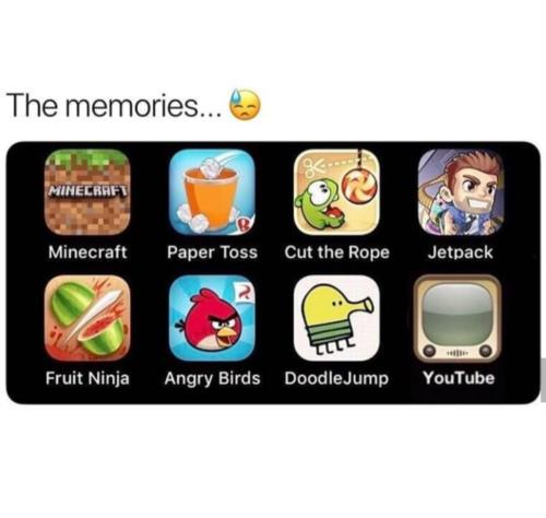Memories  are the best