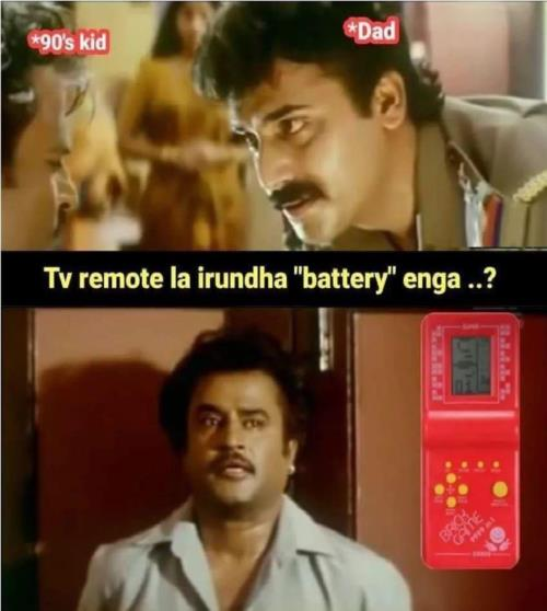 90's kids tv remote battery meme