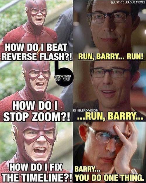 how do i beat reverse flash....