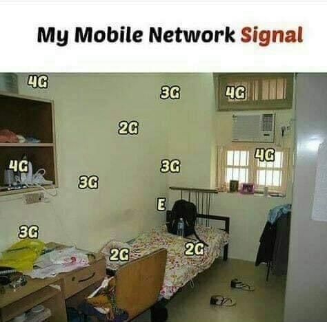 My mobile network meme