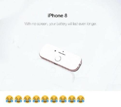 IPHONE 8 WITHOUT A SCREEN...