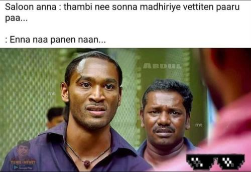 Saloon anna comedy polladhavan
