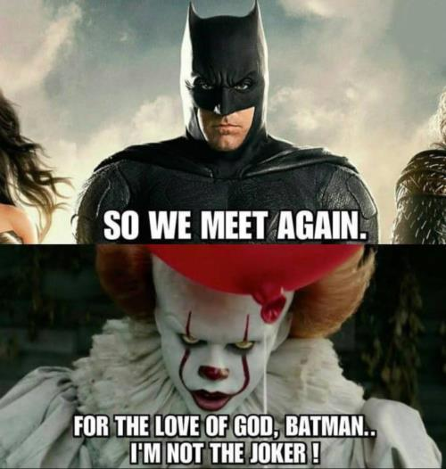 Batman IT meme
