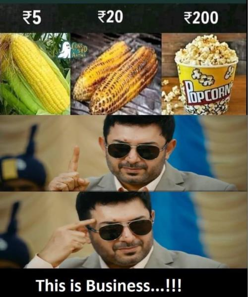 Business corn meme