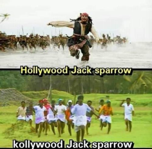 Hollywood Jack Sparrow va Kollywoor Jack Sparrow