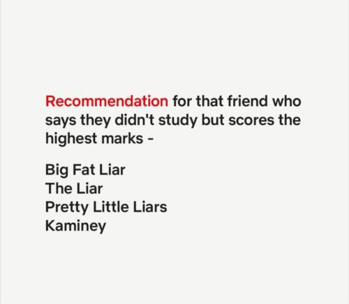 Best recommendation
