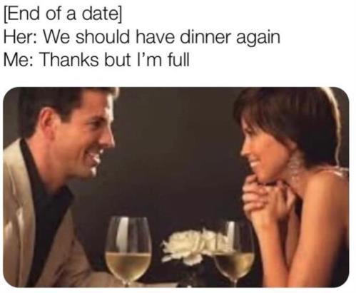 BUT I'M FULL