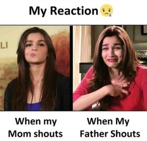 My reaction