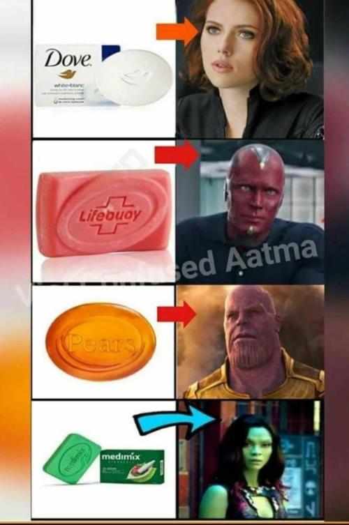 Avengers soap meme