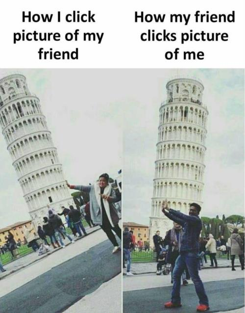 Friends click of picture
