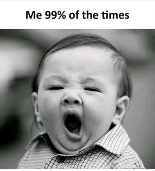 100%sleepy all time 🤣