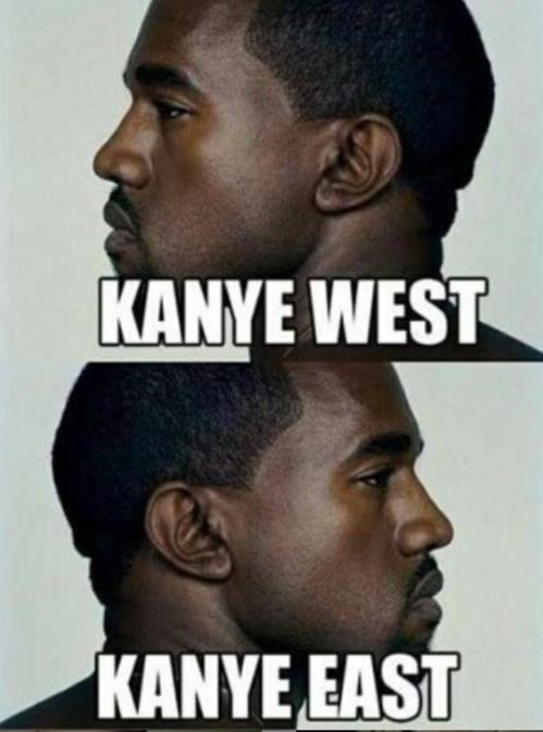 west or east