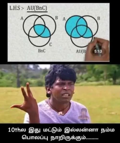 LHS RHS 10th class meme