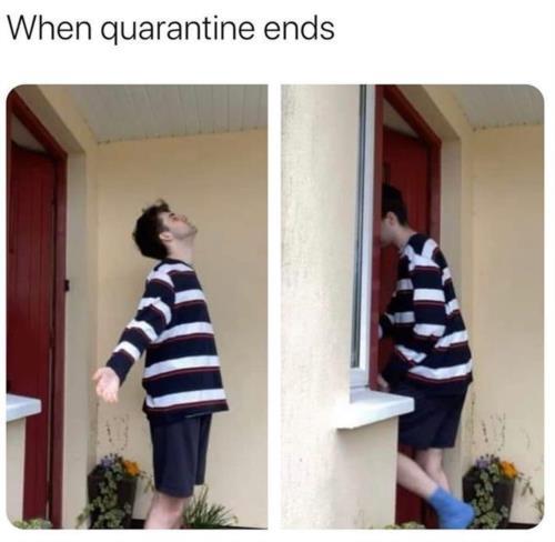 when quarantine ends...