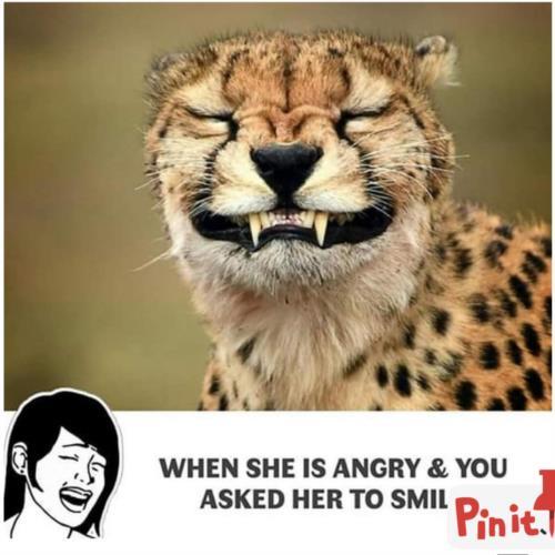 Smile babe smile😂🤣