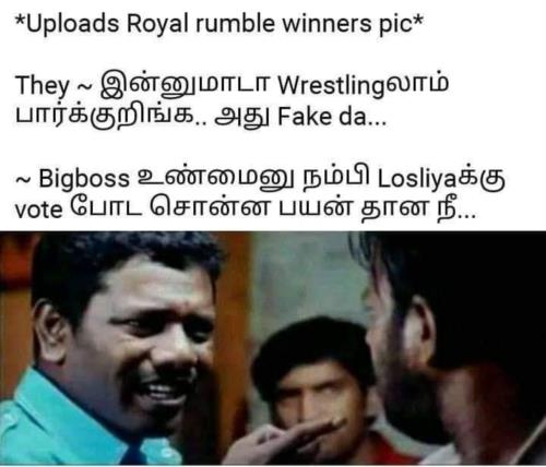 royal rumble meme