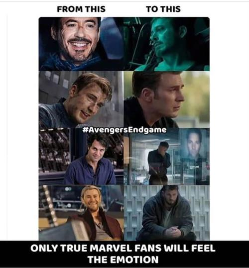 Only a true marvel fan will understand this feeling 😎
