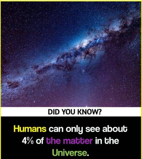 Only 4 %sees whole universe 🤔