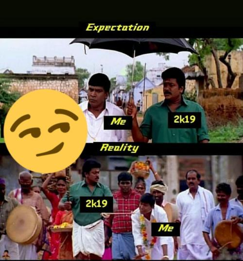 Expection and reality of 2019