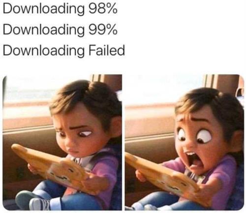 n it failed