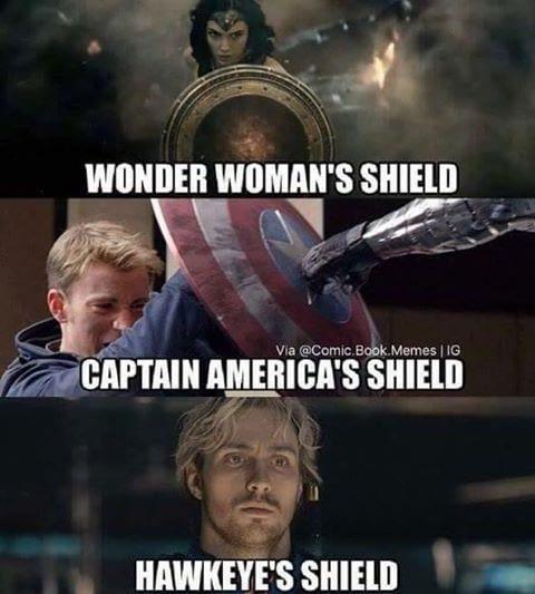 Wonderman 39 S Shield Vs Captain America 39 S Shi Jilljuck