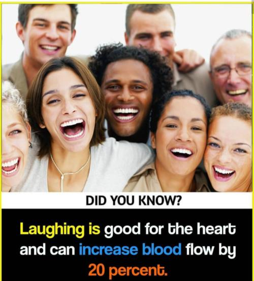 Laughing  is good for health