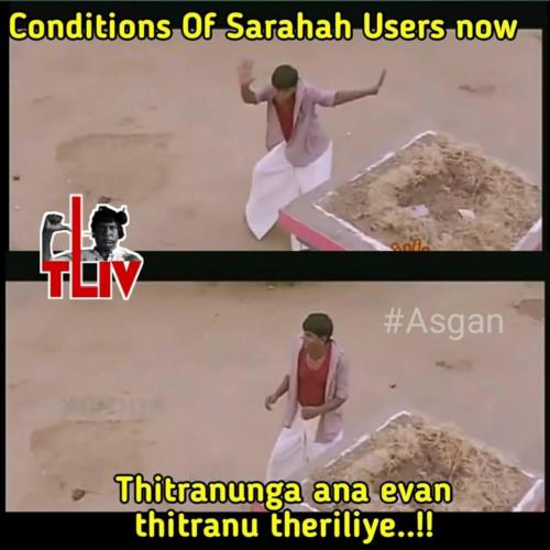 Condition on Sarahah users now