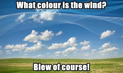 What colour is the wind?