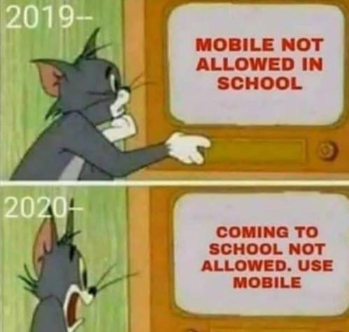 use mobile isntead