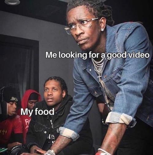 n my food looking for ?