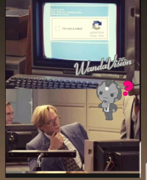Wanda Vision robot meme