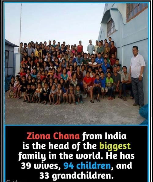 India biggest family