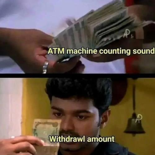 atm machine meme