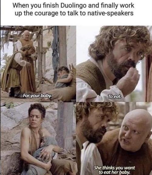 talking to native