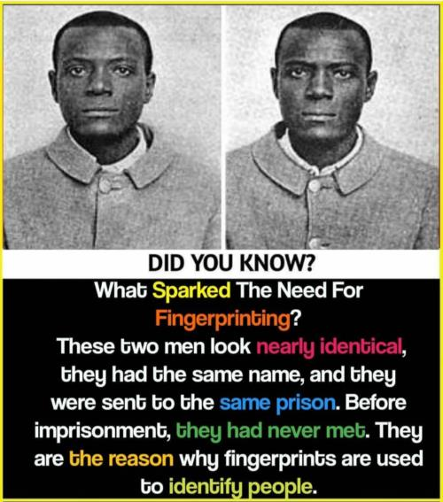 Reson behind fingerprints